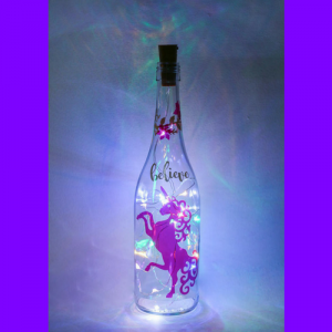 Unicorn Bottle Light